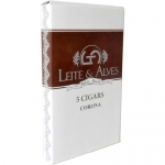 CHARUTO LEITE & ALVES SHORT FILLER CHOCOLATE C/5
