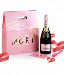 Moet & Chandom Imperial Rosè Graffiti Case 1500ml